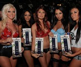 Playboy Bunnies with Clicker - TV Remote & Bottle Opener