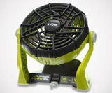 RYOBI 18-Volt ONE+ Hybrid Battery/Electric Fan