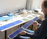 SolarGaps - Solar Panel Window Blinds