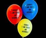 Sorry I Am Such an A**hole Balloon Package