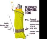 Toker Poker Glow-in-the-Dark Smoker's Tool