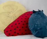 Waffle & Syrup Sheets - Fruit Pillows