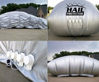 Hail Protector for Automobiles