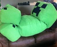 Life-Size Minecraft Creeper