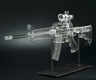 Glass Machine Gun Pipes
