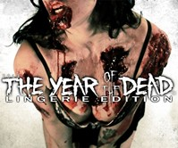 Year of the Dead Zombie Lingerie Calendar