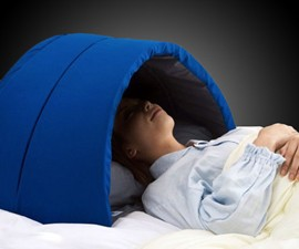Igloo Dome Sensory Deprivation Pillow