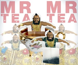 Mr. Tea Greeting Card