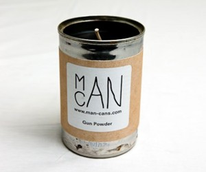 Man Can - Gun Powder Scented Candle