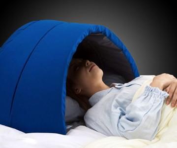 Igloo Dome Sensory Deprivation Pillow | DudeIWantThat com