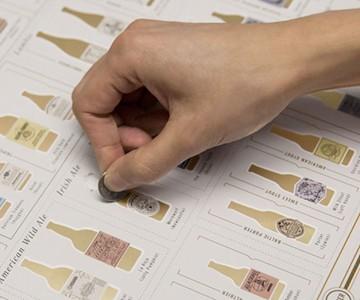99 Bottles of Beer Scratch-Off Chart
