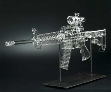 Glass AR-15 Gun Pipe