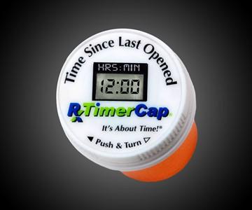 Prescription Bottle TimerCap