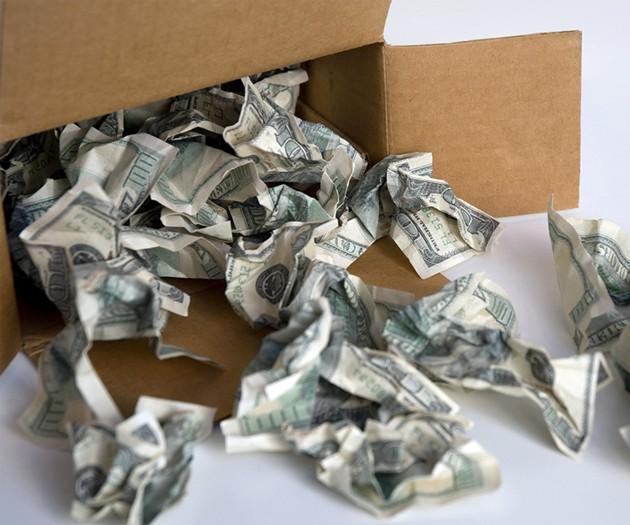 Financial Padding Package Cushioning