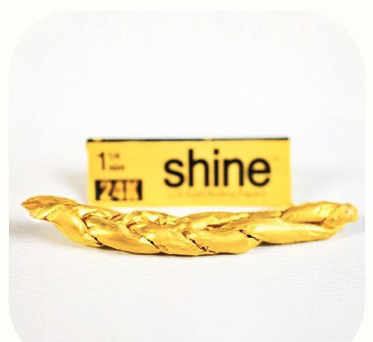 Shine 24k Gold Rolling Papers Dudeiwantthat Com
