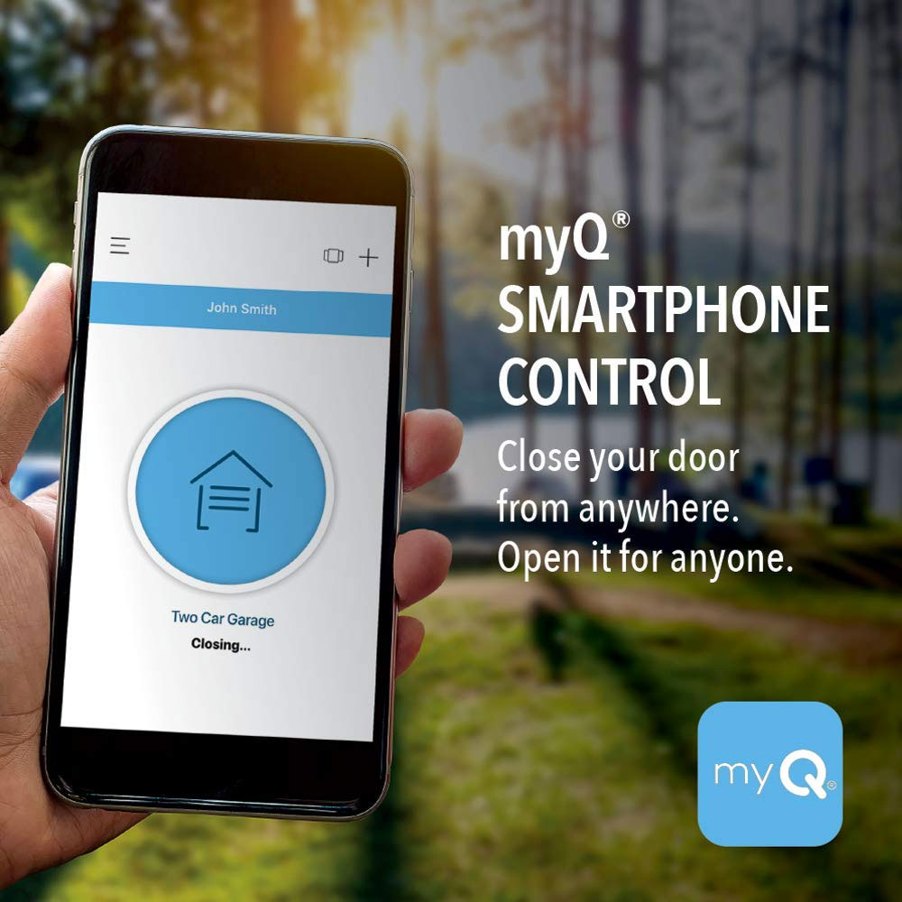 Smartphone Controlled Ultra Quiet Garage Door Opener