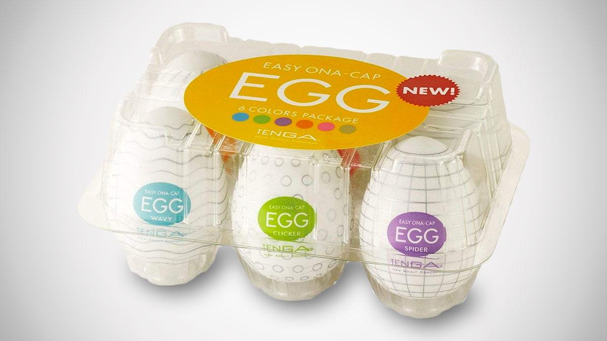 Tenga Easy Beat Egg Men's Portable Pleasure Device