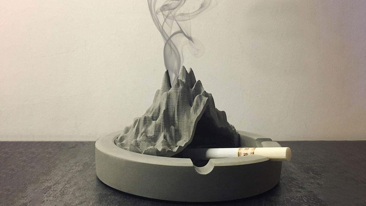 Volcano Ashtray