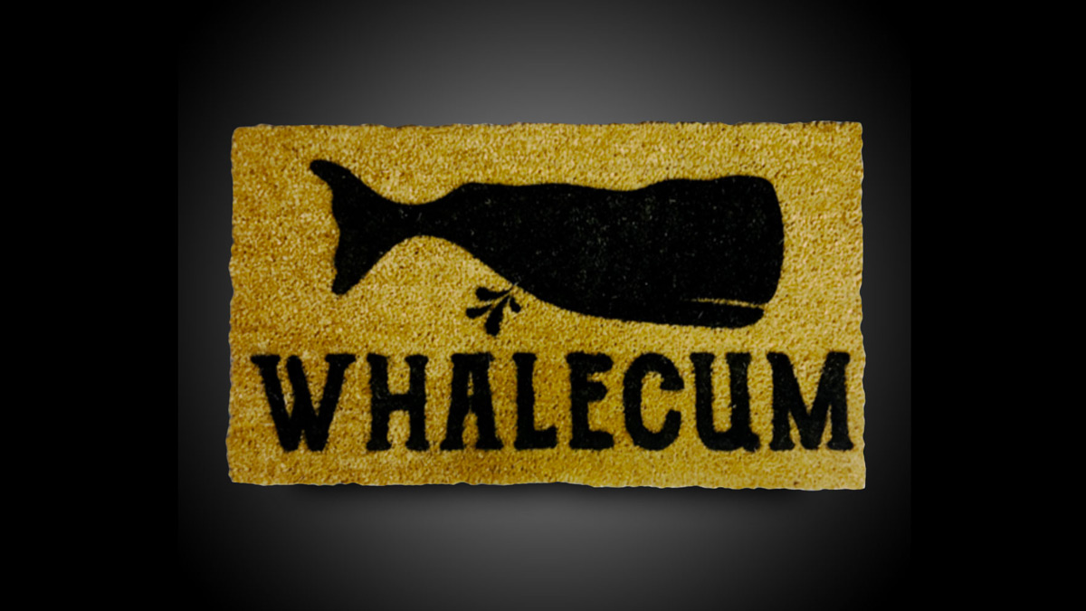 Whalecum Mat