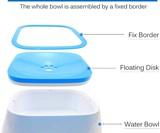 TagME Dripless Dog Water Bowl
