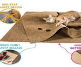 The Ripple Rug Cat Play Mat