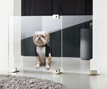 Keep Em Out/In Dog Door Gate