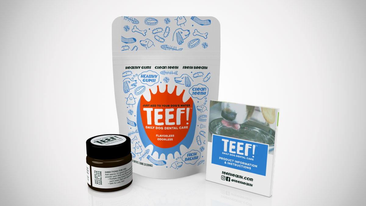 TEEF! - Drinkable Dog Dental Health