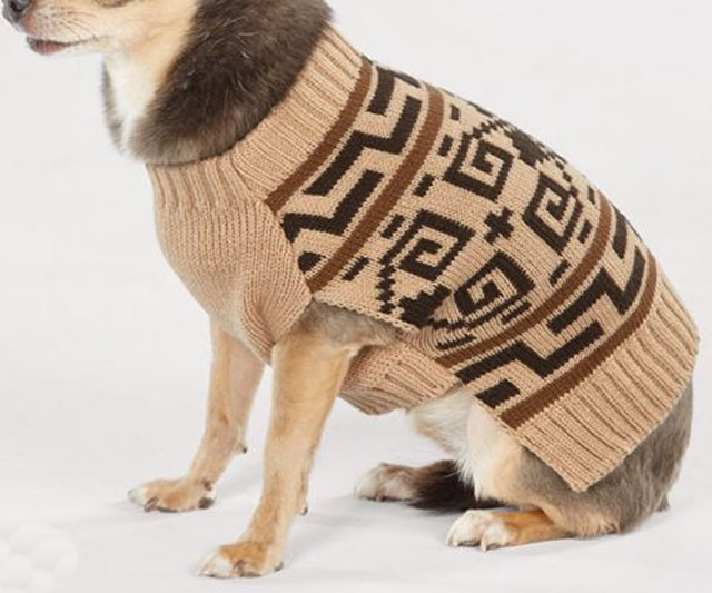 The Dude Dog Sweater