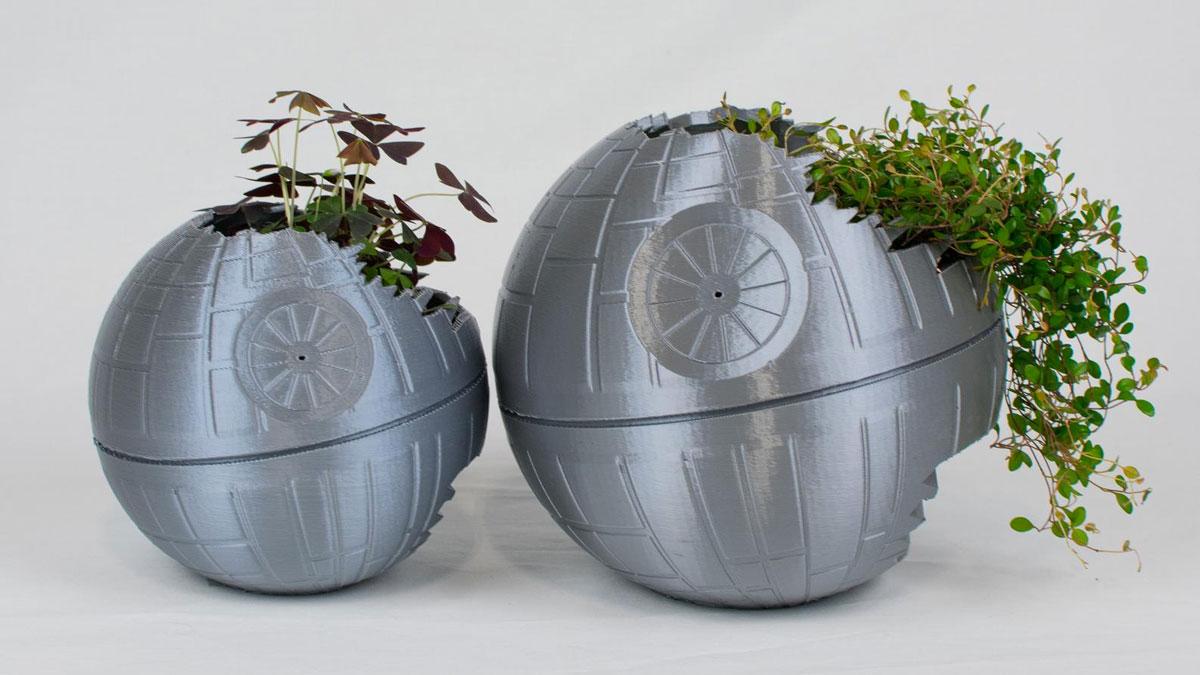 Death Star Planters