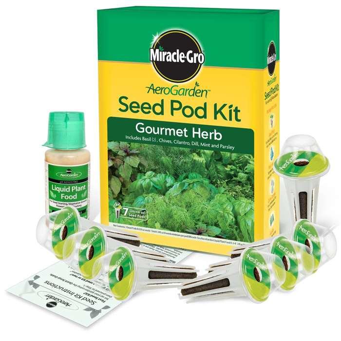 Miracle gro 7 pod indoor aerogarden - Indoor herb garden starter kit ...