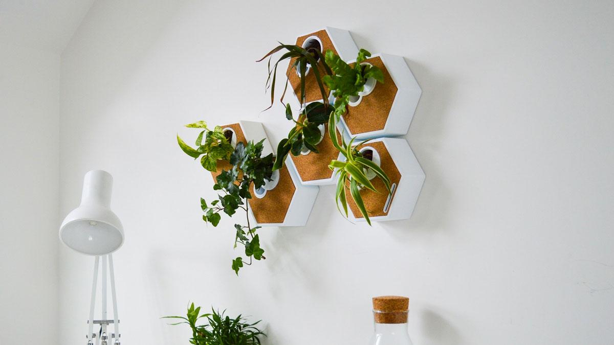 Noku Canvas Modular, Self-Watering Planter