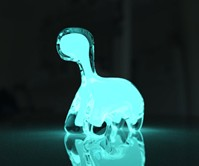 Dino Pet Bioluminescent Night Light