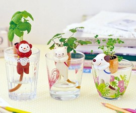 Self-Watering Animal Planters