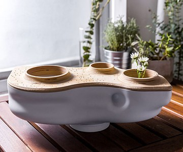 BioVessel Living Countertop Composter