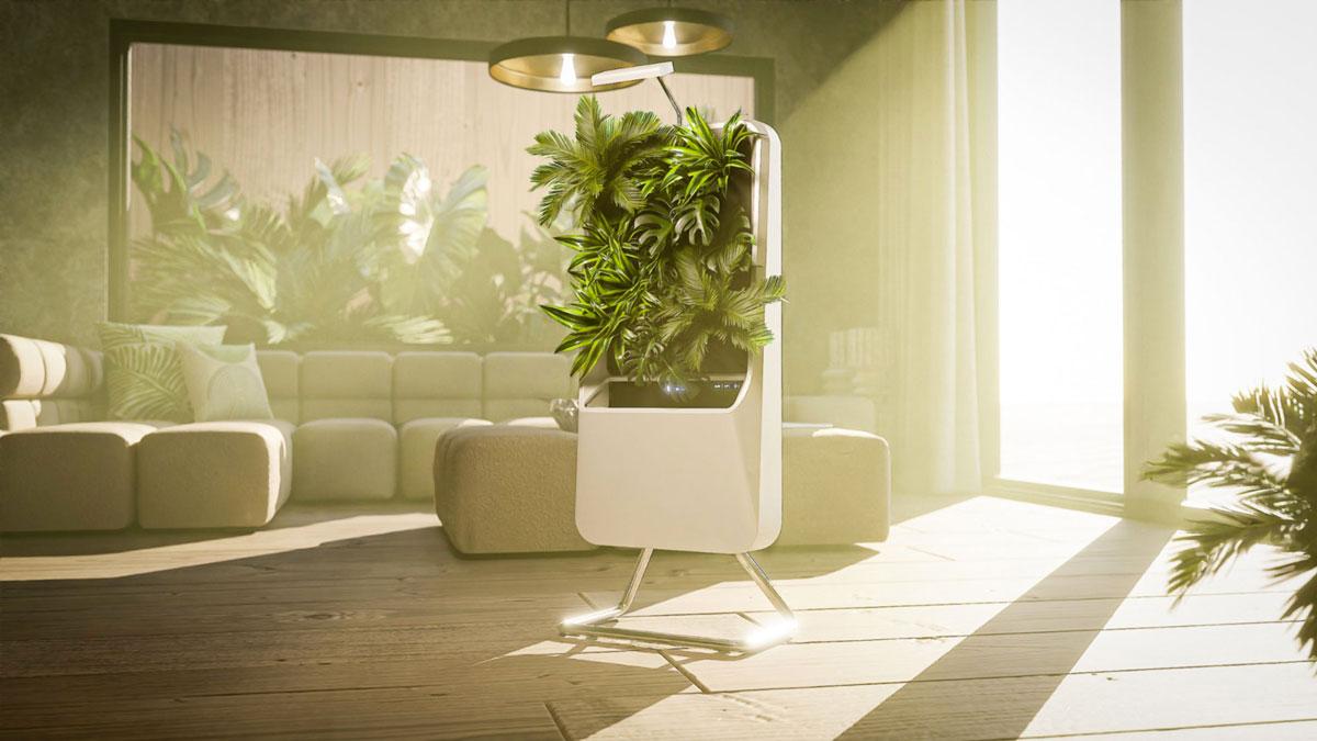 Respira Smart Garden - Hydroponic Plant Air Purifier
