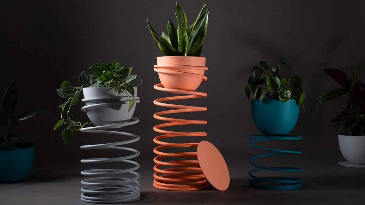 Slinky Planter