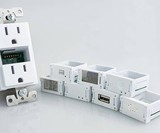 Swidget Modular Outlet with Smart Home Inserts