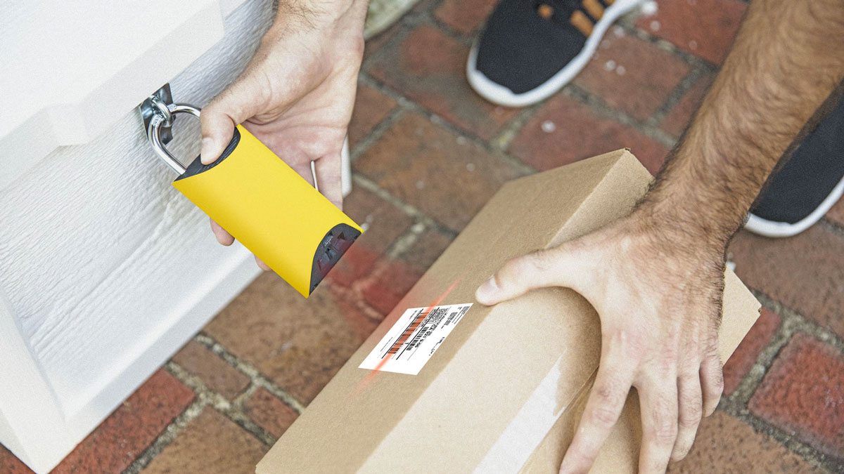 BoxLock Smart Padlock for Package Deliveries