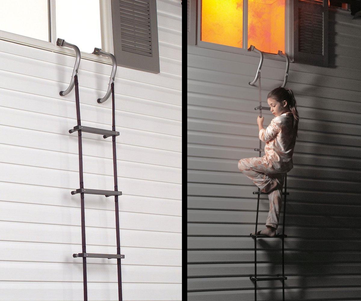 Fire Escape Ladder Apartment Building