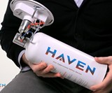 Haven Automatic Heat-Activated Fire Extinguisher
