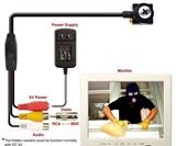 Mini CCTV Screw Camera