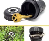 Spiked Sprinkler Head Hide-A-Key