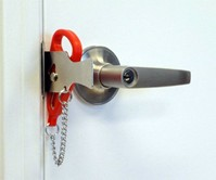 Add-A-Lock Portable Door Lock