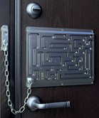Maze Door Chain Lock