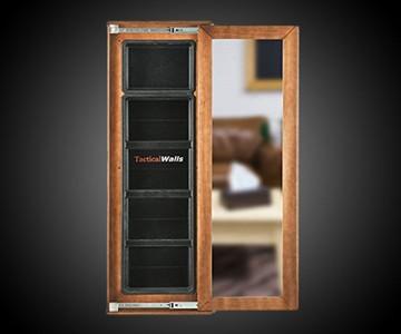 Concealed Storage Mirror