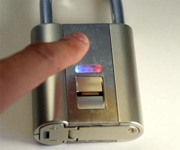 iFingerLock - Fingerprint Padlock