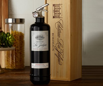 Wine Bottle Fire Extinguisher