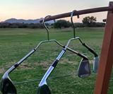 Golf Club Clothes Hangers