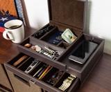 Houndsbay Admiral Dresser Valet & Men's Jewelry Box