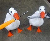 Magnetic Goose Helper